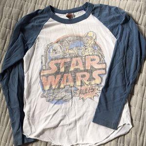 Star Wars long sleeve shirt.